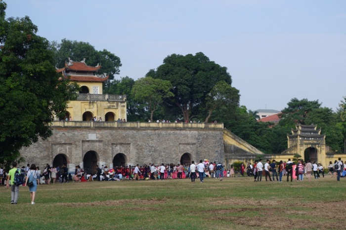 The Imperial Citadel gateway in Hanoi Vietnam