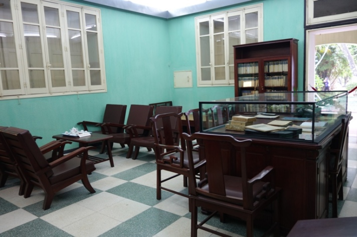 General Vo Nguyen Giap's office, The historic Building D67,in Hanoi Vietnam