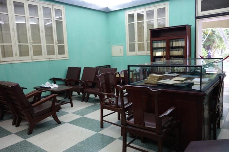 General Vo Nguyen Giap's office, The historic Building D67,in Hanoi Vietnam