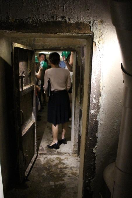 Underground bunker or air raid shelter at Sofitel Legend Metropole Hotel Hanoi